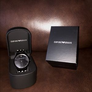 Men's Emporio Armani Stainless Steel Watch
